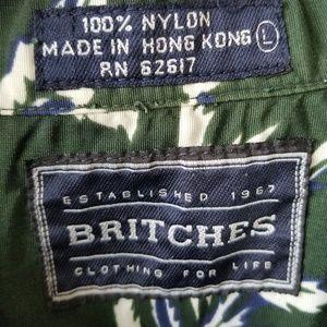 Britches Shirts - BRITCHES Men's Hawaiian Buttondown Shirt!